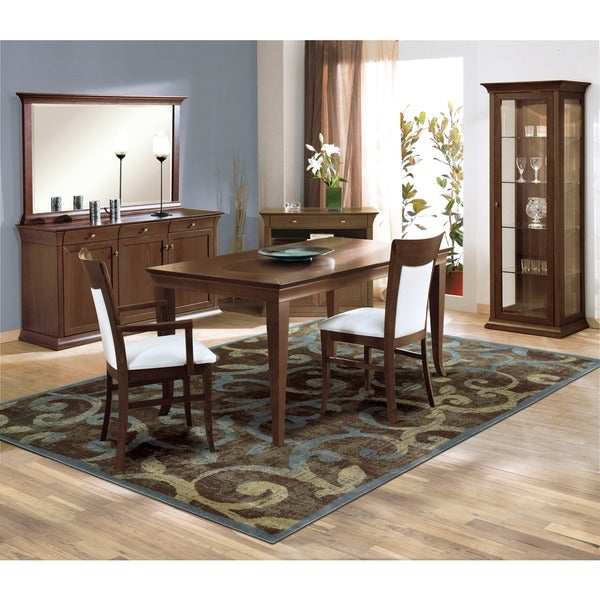 Nourison Expressions Multicolor Scroll Rug (3'6 x 5'6)