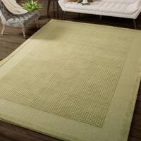 """Nourison Westport Hand-tufted Sage Wool Rug - 3'6"""" x 5'6"""""""