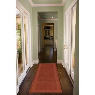 Nourison Westport Hand-tufted Spice Wool Rug (2'3 x 7'6) Runner