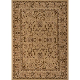 "Westminster Agra Ivory Power-Loomed Rug (9'10"" x 13'6"")"