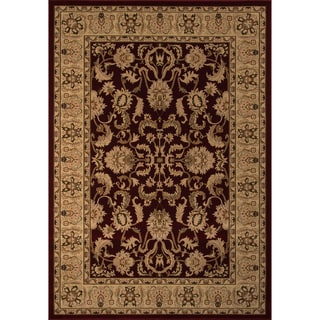 "Westminster Agra Red Power-Loomed Rug (9'10"" x 13'6"")"