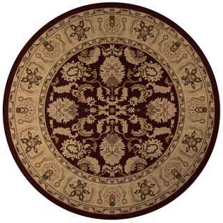 Momeni Royal Red Rug (7'10 X 7'10 Round)