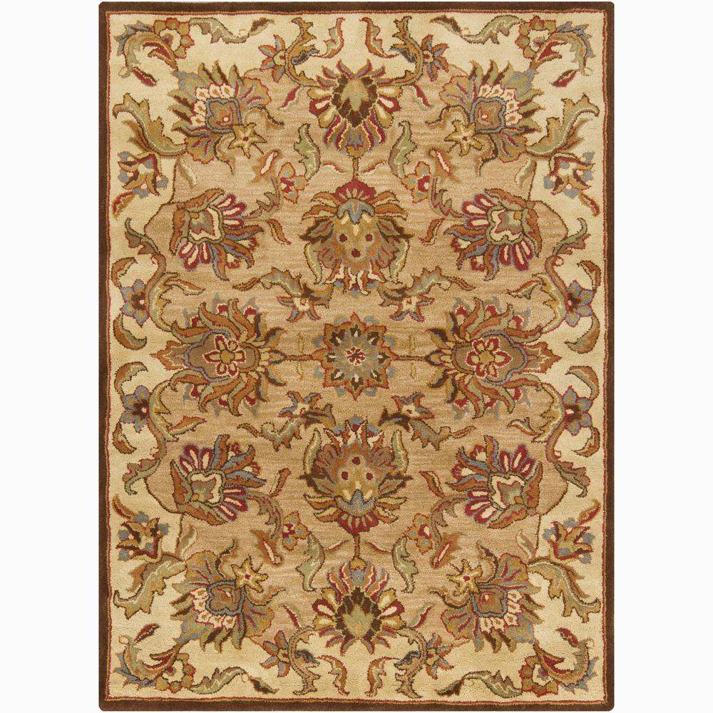 Artist's Loom Hand-tufted Traditional Oriental Wool Rug (5'x7') - 5' x 7'