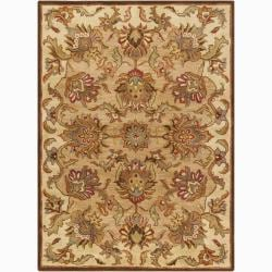 Artist's Loom Hand-tufted Traditional Oriental Wool Rug (7'x10') - 7' x 10' - Thumbnail 0