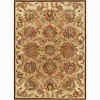 Artist's Loom Hand-tufted Traditional Oriental Wool Rug (7'x10') - 7' x 10'