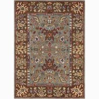 Artist's Loom Hand-tufted Traditional Oriental Wool Rug - 7'x10'
