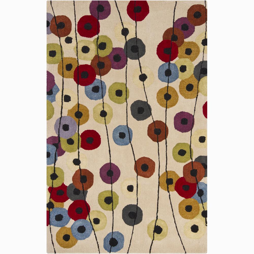 Artist's Loom Hand-tufted Contemporary Geometric Wool Rug (8'x10') - 8' x 11'