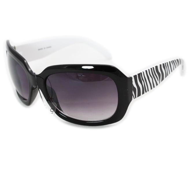 Women's Zebra-print Fashion Sunglasses