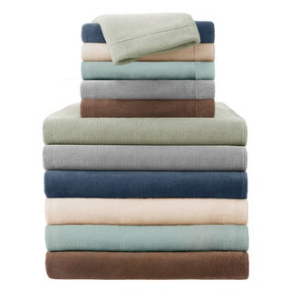 True North by Sleep Philosophy Soloft Plush King-size 4-piece Sheet Set