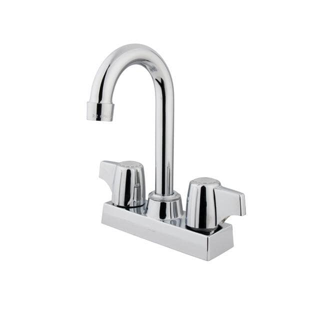 Chrome Two-handle Bar Faucet