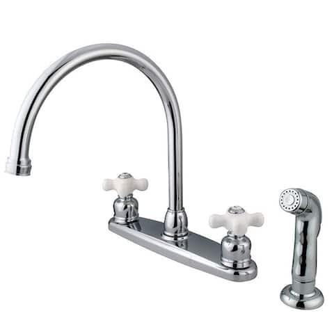 Vintage Chrome Kitchen Faucet and Sprayer
