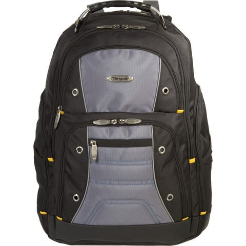 """Targus TSB239US Carrying Case (Backpack) for 17"""" Notebook - Black, Gray"""
