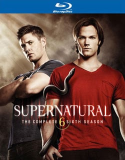Supernatural: The Complete Sixth Season (Blu-ray Disc)