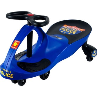 Police Car Ride on Wiggle Car by Lil' Rider, Ride on Toy – Ride on Toys for Boys & Girls 2 Year Old & Up