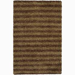 "Artist's Loom Hand-woven Shag Rug (7'9 x 10'6) - 7'9"" x 10'6"" - Thumbnail 0"