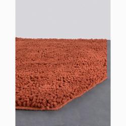Artist's Loom Hand-woven Wool Shag Rug (2'6x7'6) - Thumbnail 2