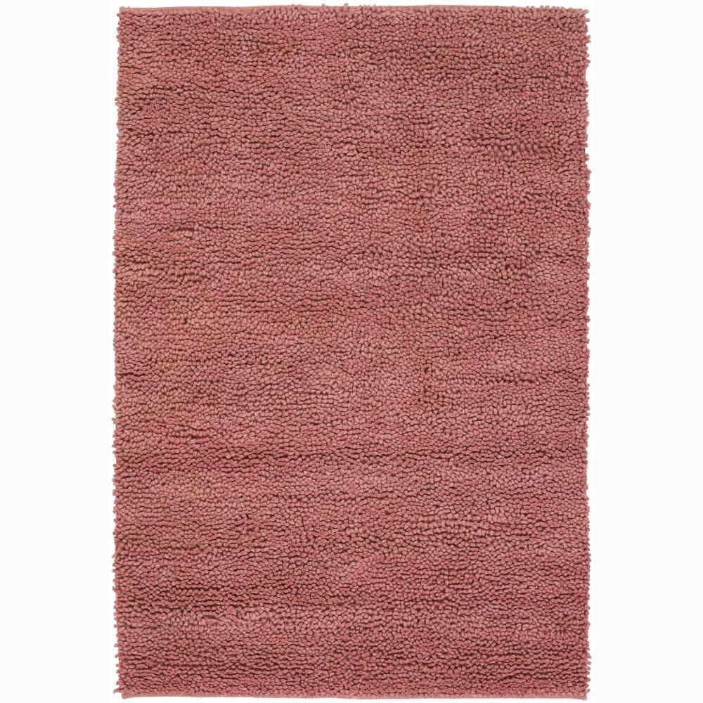 Artist's Loom Hand-woven Wool Shag Rug (2'x3') - 2' x 3'