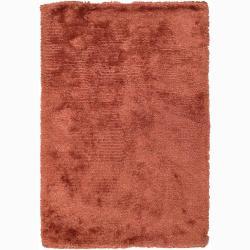 "Artist's Loom Hand-woven Shag Rug - 7'9"" x 10'6"" - Thumbnail 0"