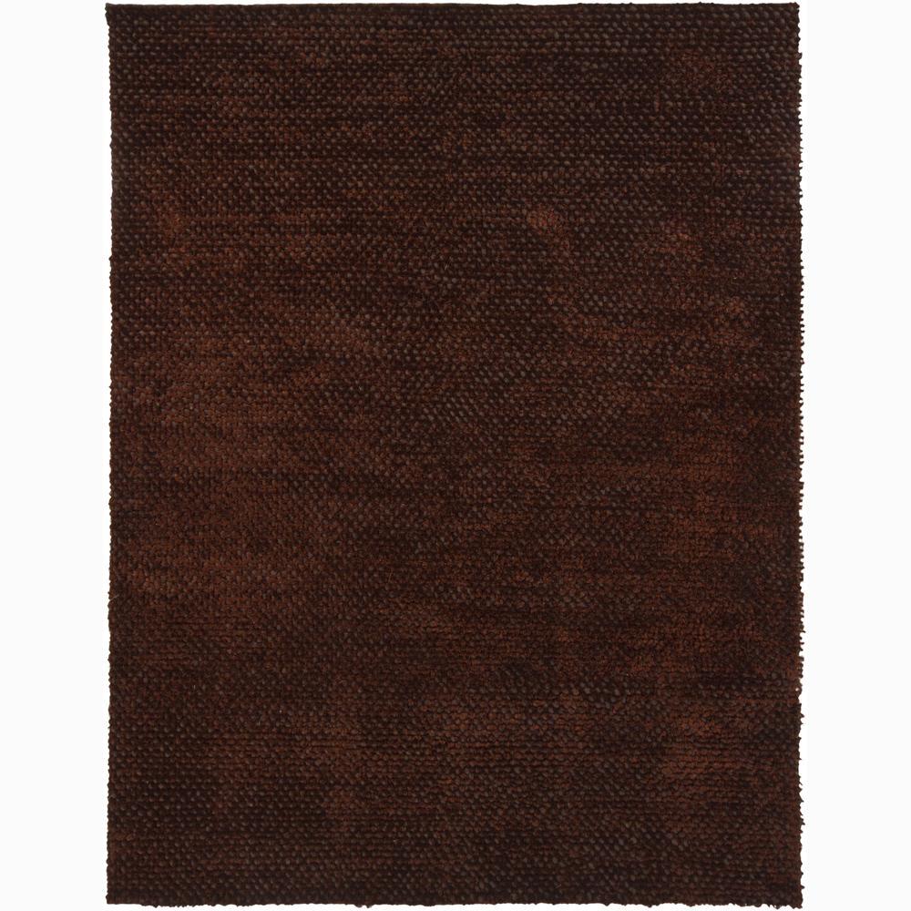"Artist's Loom Hand-woven Shag Rug - 7'9"" x 10'6"""