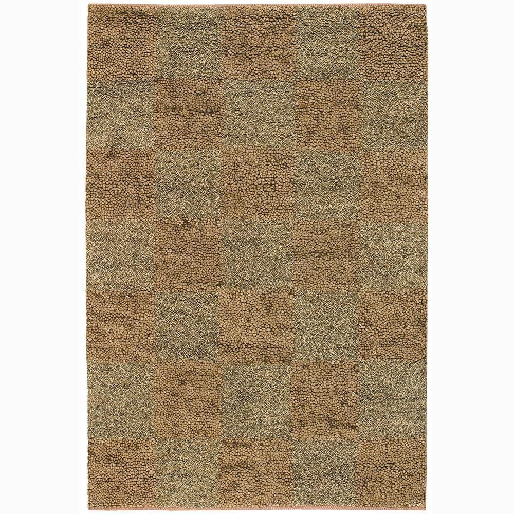 """Artist's Loom Hand-woven Wool Shag Rug - 2'6"""" x 7'6"""""""