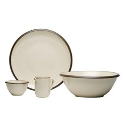 Red Vanilla Hampshire Cream 4-piece Serveware Set