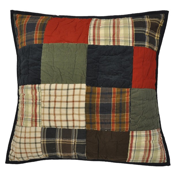 Shane Patchwork Throw Pillow