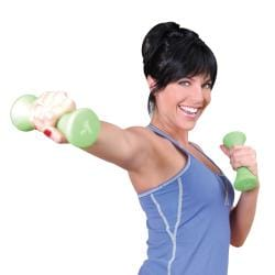 Tone Fitness 3-pound Dumbbell Weight Set - Thumbnail 1