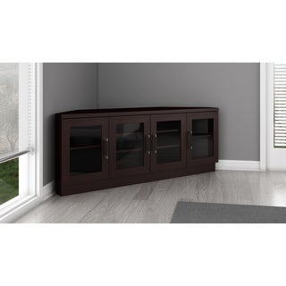 Contemporary 60-inch Wenge TV and Entertainment Corner Center