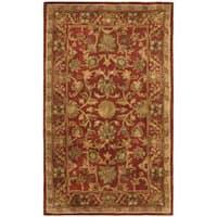 Safavieh Handmade Heirloom Red Wool Runner Rug - 2'3 x 4'