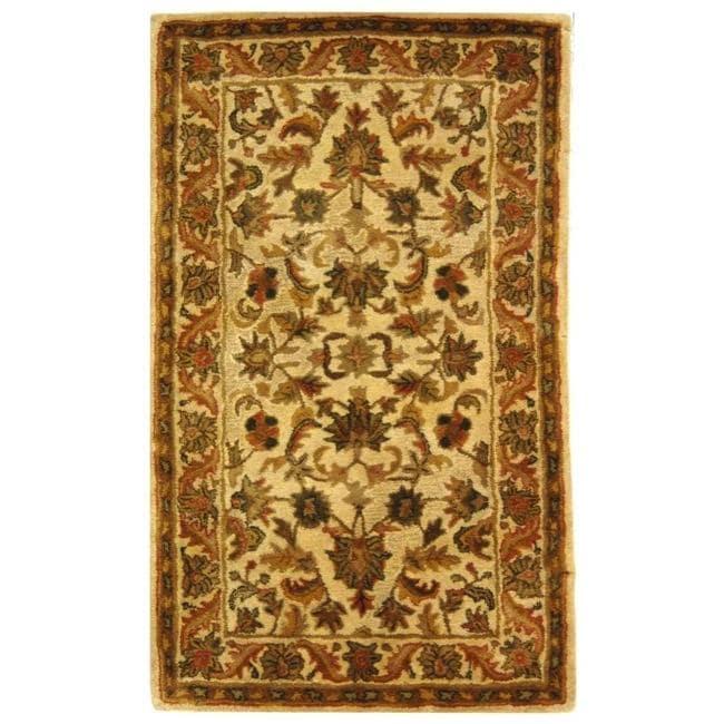 Safavieh Handmade Heritage Ivory Wool Rug - 3' x 5'