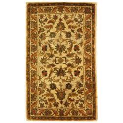 Safavieh Handmade Heritage Ivory Wool Rug - 3' x 5' - Thumbnail 0