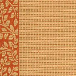 Safavieh Courtyard Natural/ Terracotta Indoor/ Outdoor Rug (9'2 x 11'7) - Thumbnail 1