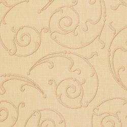 Safavieh Oasis Scrollwork Natural/ Terracotta Indoor/ Outdoor Rug (6'7 x 9'6) - Thumbnail 2