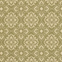 Safavieh Indoor/ Outdoor Green/ Creme Rug (8' x 11'2)