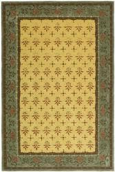 Safavieh Hand-hooked Easy Care Morocco Beige/ Red Rug - 6' x 9'