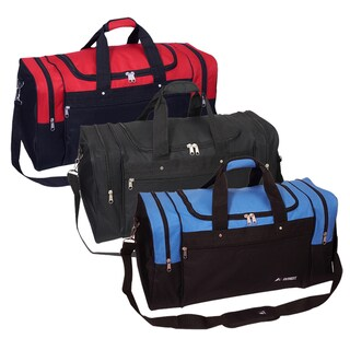 Everest 26-inch Signature Sports Polyester Duffel Bag with Strap