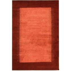 Safavieh Hand-knotted Gabeh Solo Rose Wool Rug (2' x 3')