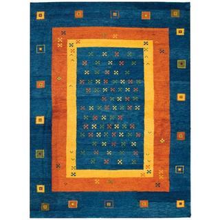 Safavieh Hand-knotted Gabbeh Lakisha Traditional Wool Rug (6 x 8 - Assorted)