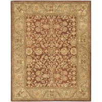 "Safavieh Handmade Golden Jaipur Rust/ Green Wool Rug - 8'3"" x 11'"