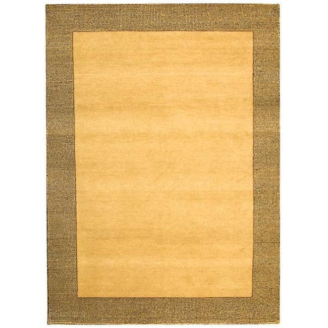 Shop Safavieh Hand-knotted Gabeh Passage Beige Wool Rug
