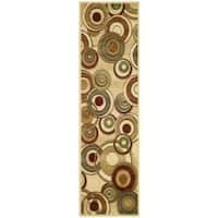Safavieh Lyndhurst Contemporary Ivory/ Multi Runner - 2'3 x 12'