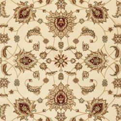Safavieh Majesty Extra Fine Cream/ Red Rug (4' x 6')