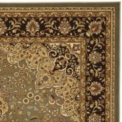 Safavieh Majesty Extra Fine Sage/ Brown Rug (4' x 6')
