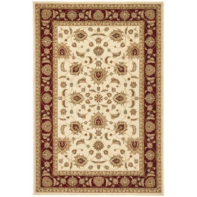 Safavieh Majesty Extra Fine Cream/ Red Rug (7'9 x 9'9) - Thumbnail 0