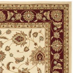 Safavieh Majesty Extra Fine Cream/ Red Rug (7'9 x 9'9) - Thumbnail 1