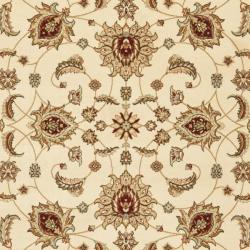 Safavieh Majesty Extra Fine Cream/ Red Rug (7'9 x 9'9) - Thumbnail 2