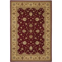 Safavieh Majesty Extra Fine Red/ Camel Rug - 7'9 x 9'9 - Thumbnail 0