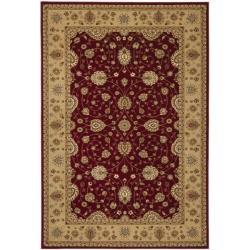 Safavieh Majesty Extra Fine Red/ Camel Rug (7'9 x 9'9)