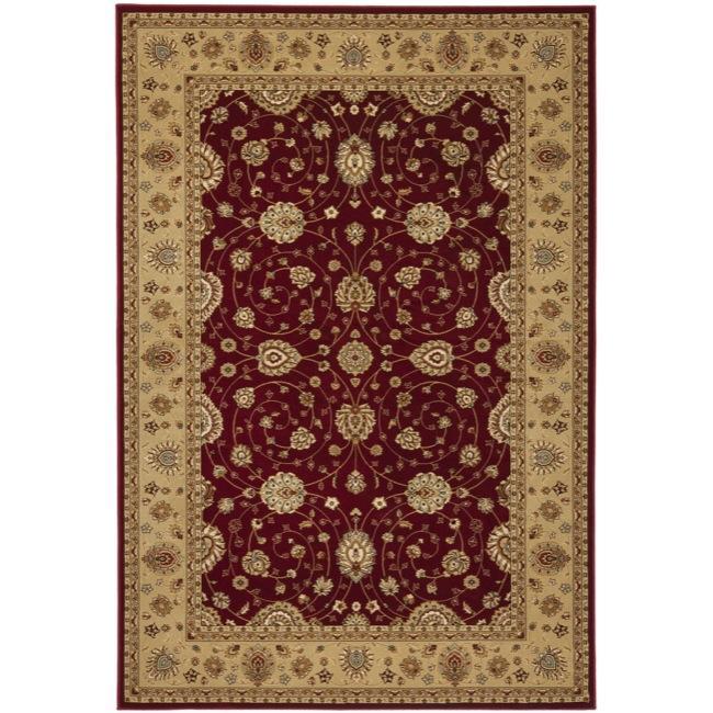 Safavieh Majesty Extra Fine Red/ Camel Rug - 7'9 x 9'9