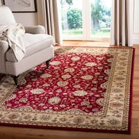 "Safavieh Majesty Extra Fine Red/ Camel Rug - 7'9"" x 9'9"""